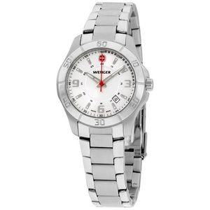 Wenger Swiss silver 100m water resistant watch